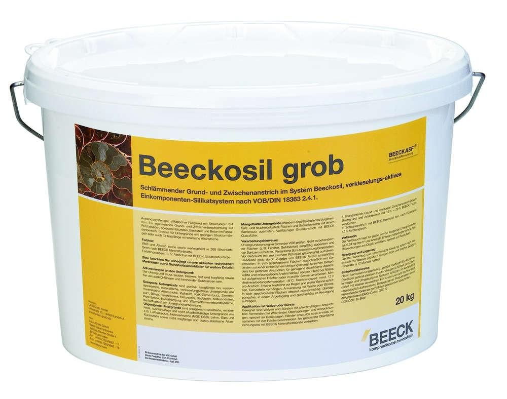 BEECK BEECKOSIL GROB 8 kg  FARBTONGRUPPE III
