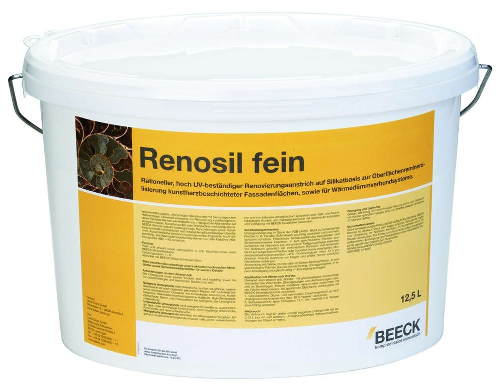 BEECK RENOSIL FEIN FARBTONGRUPPE II 5 l