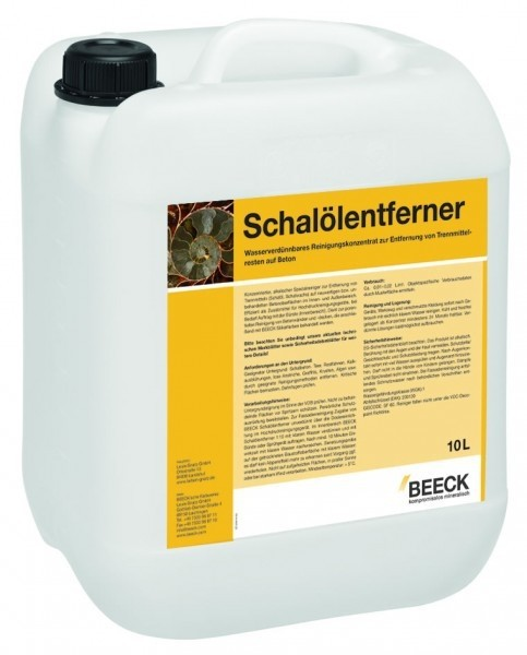 BEECK SCHALÖLENTFERNER 5 l