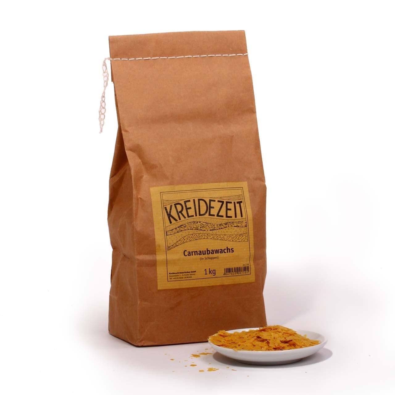 KREIDEZEIT Carnaubawachs (in Schuppen) 1 kg