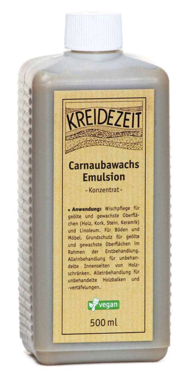 Kreidezeit Carnaubawachs Emulsion -Konzentrat- 0,5 l