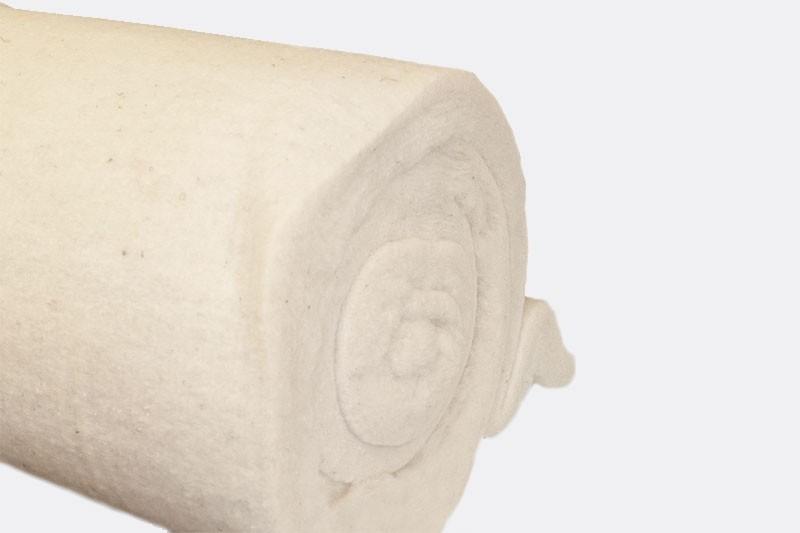 Schafschurwoll Dämmbahn 60 mm