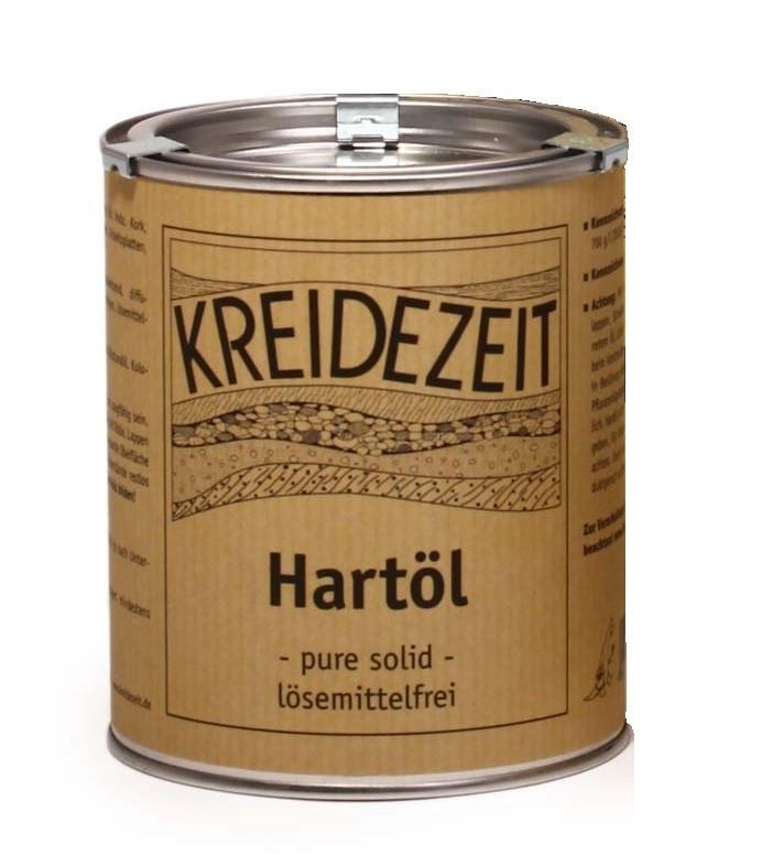 Kreidezeit Hartöl - pure solid - lösemittelfrei 5 L