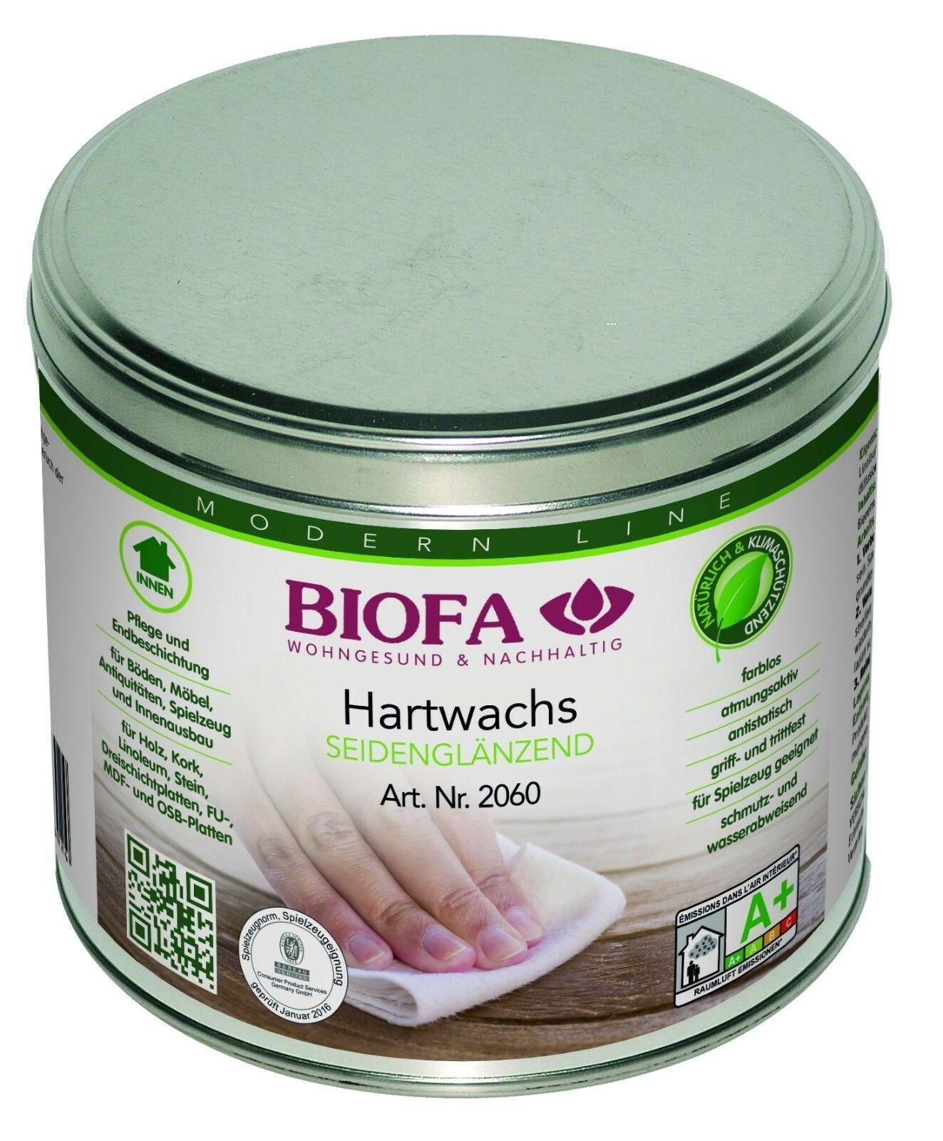 BIOFA Hartwachs 250 ml