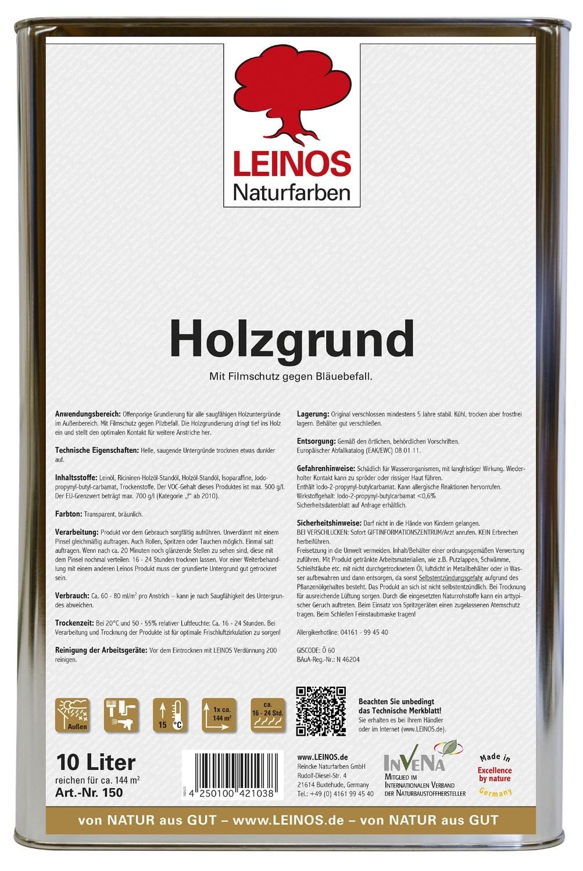 Leinos Holzgrund 150 - 10 L