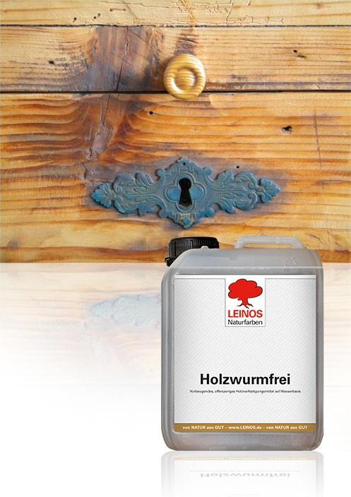 Leinos Holzwurm-Frei 2,50 L