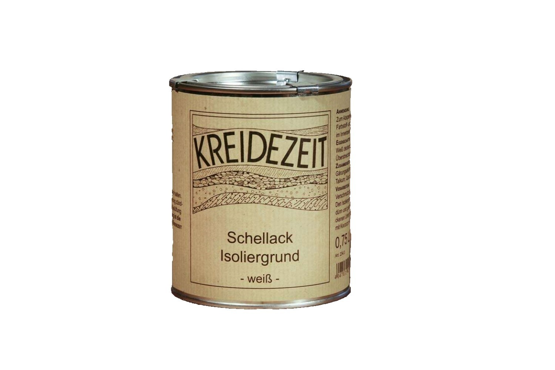 Schellack-Isoliergrund - weiß 0,75 l