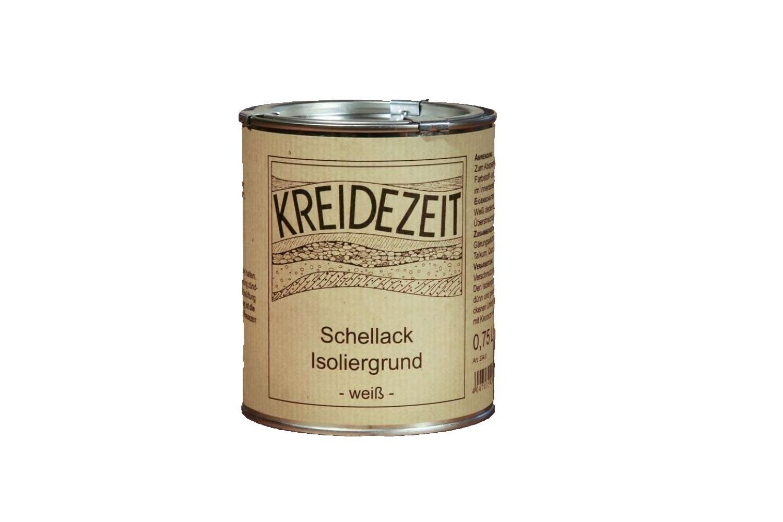 Schellack-Isoliergrund - weiß 2,5 l