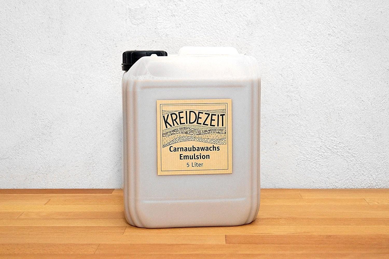 Kreidezeit Carnaubawachs Emulsion -Konzentrat- 5 l