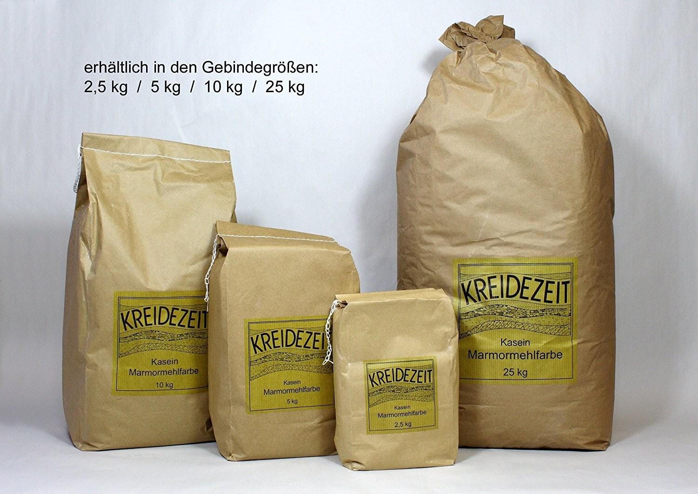 Kreidezeit Kasein Marmormehlfarbe 2,5 kg