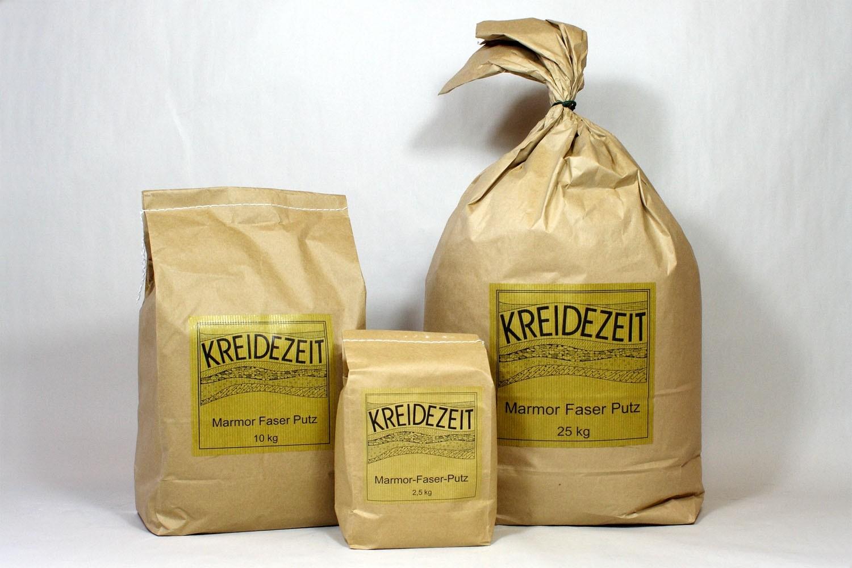 Marmor Faserputz 25 kg