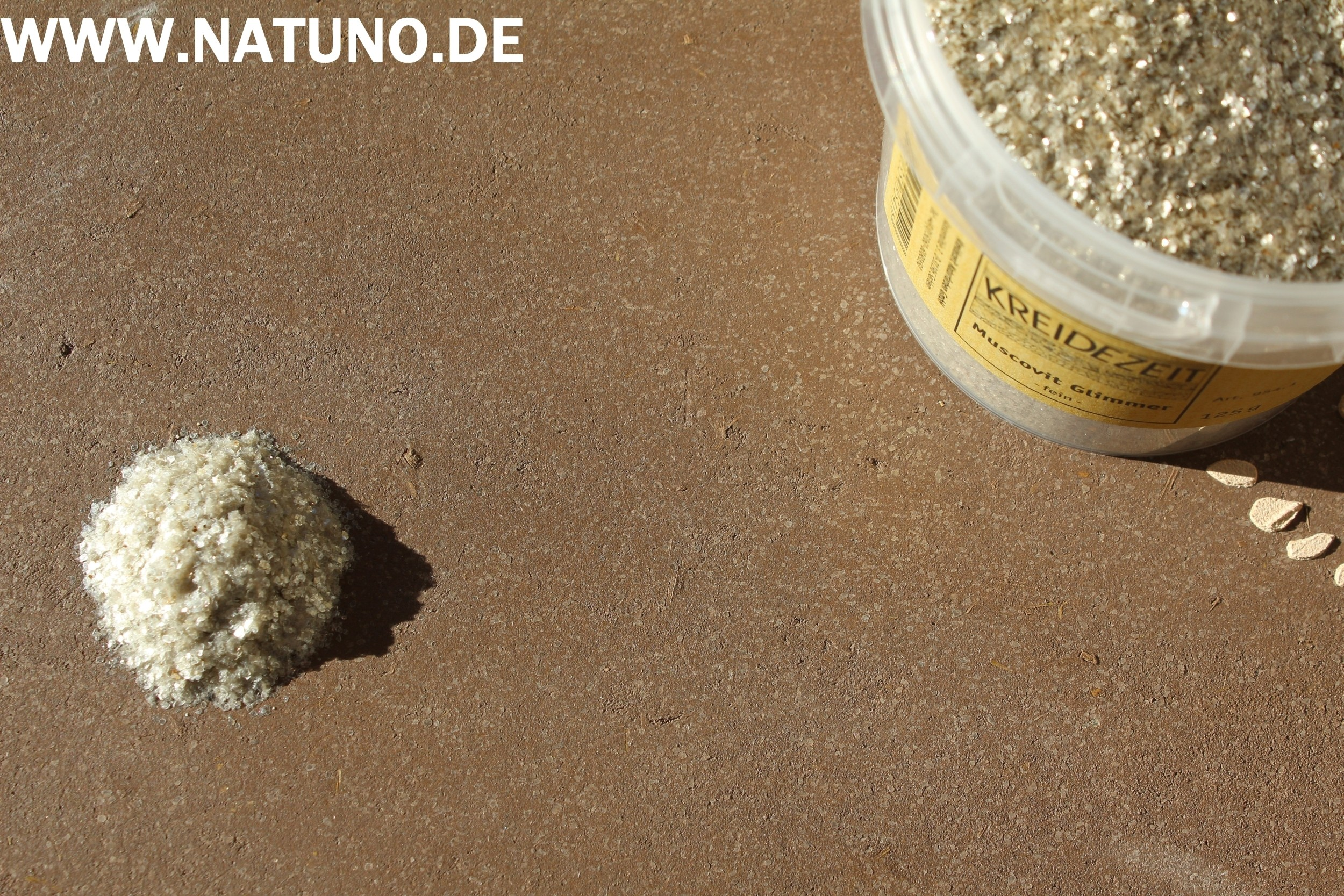 Kreidezeit Muscovit Glimmer fein 125 g