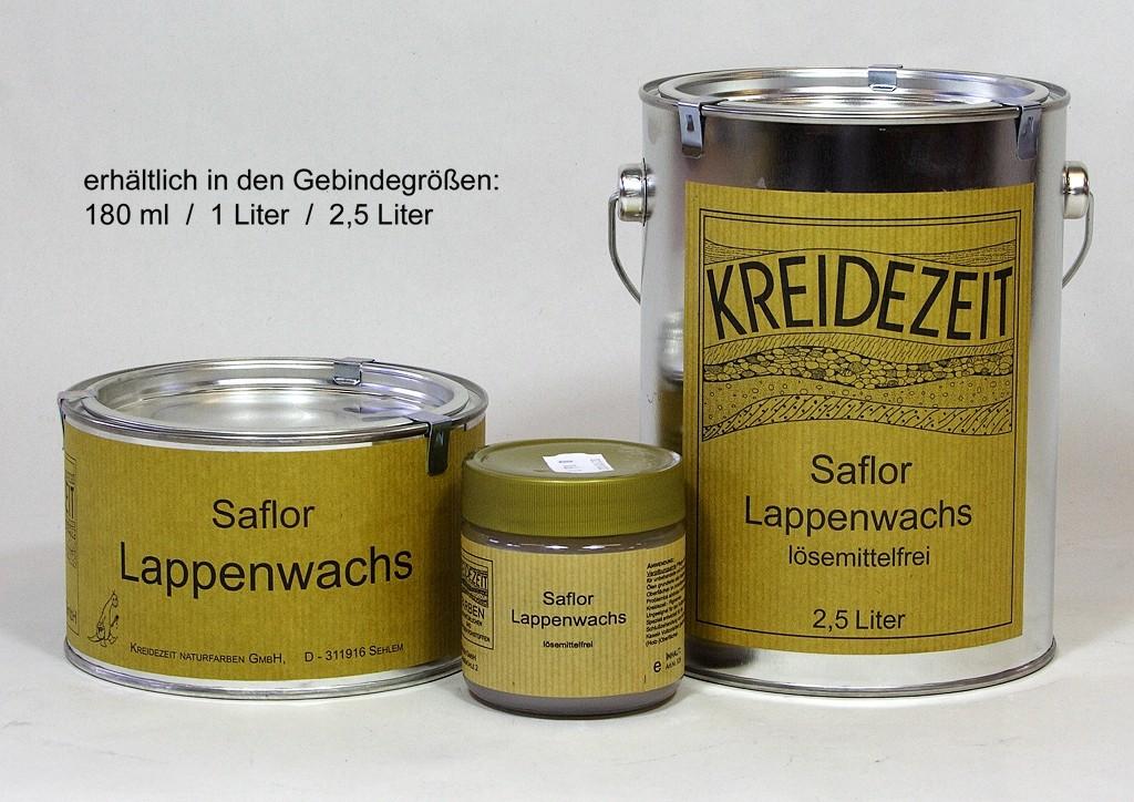 Kreidezeit Saflor Lappenwachs vergilbungsarm 180 ml