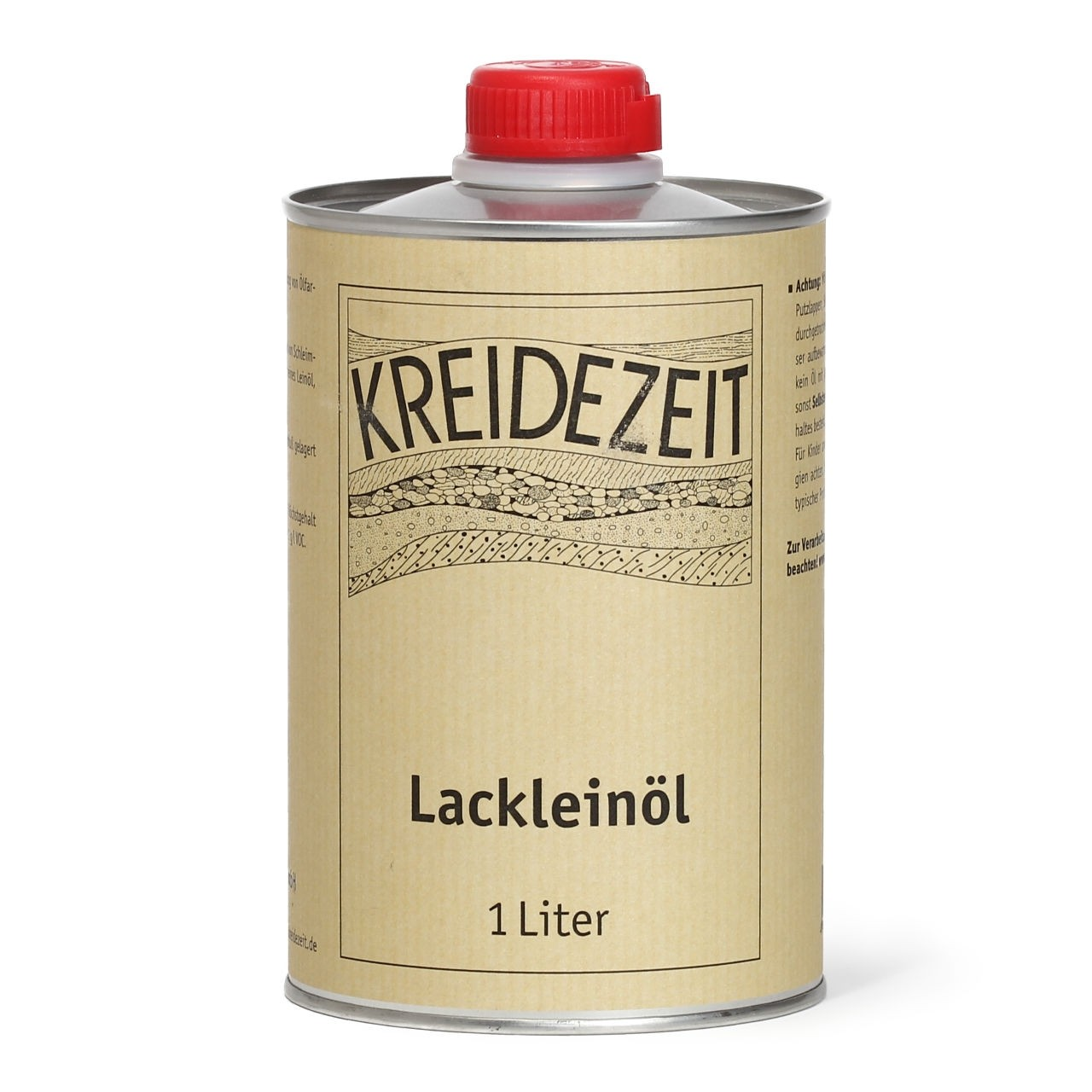 Kreidezeit Lackleinöl 1 Liter