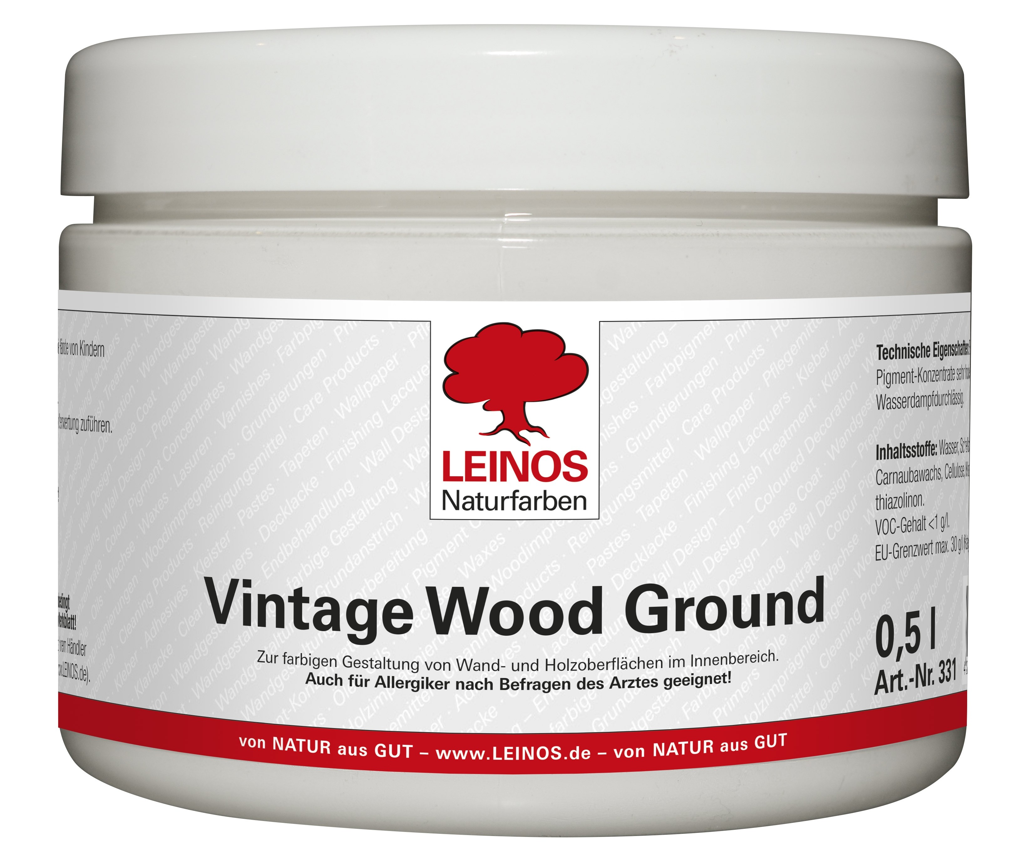 LEINOS Vintage Wood Ground 331  0,5L