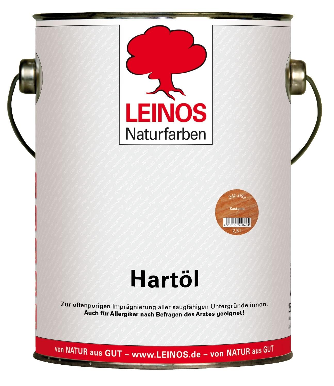 LEINOS Hartöl Kastanie 240 2,5L