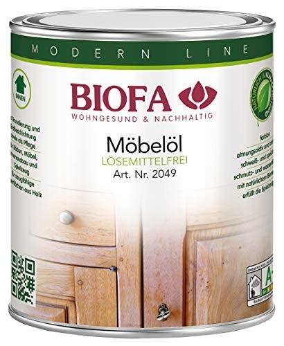 BIOFA Möbelöl, lösemittelfrei 2,5 l