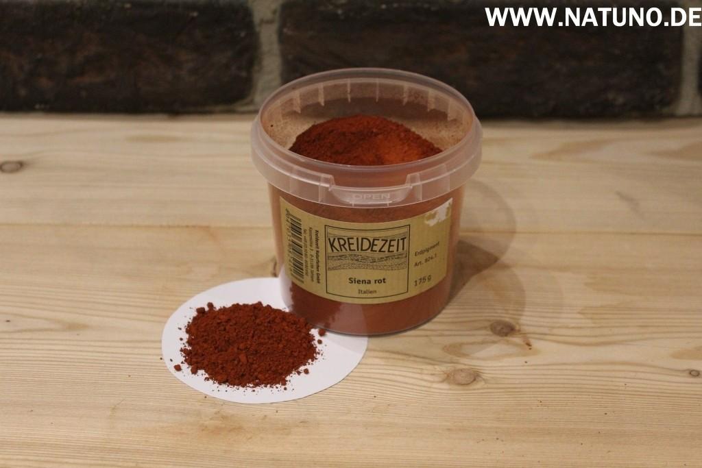 Kreidezeit Pigment Siena rot, Italien