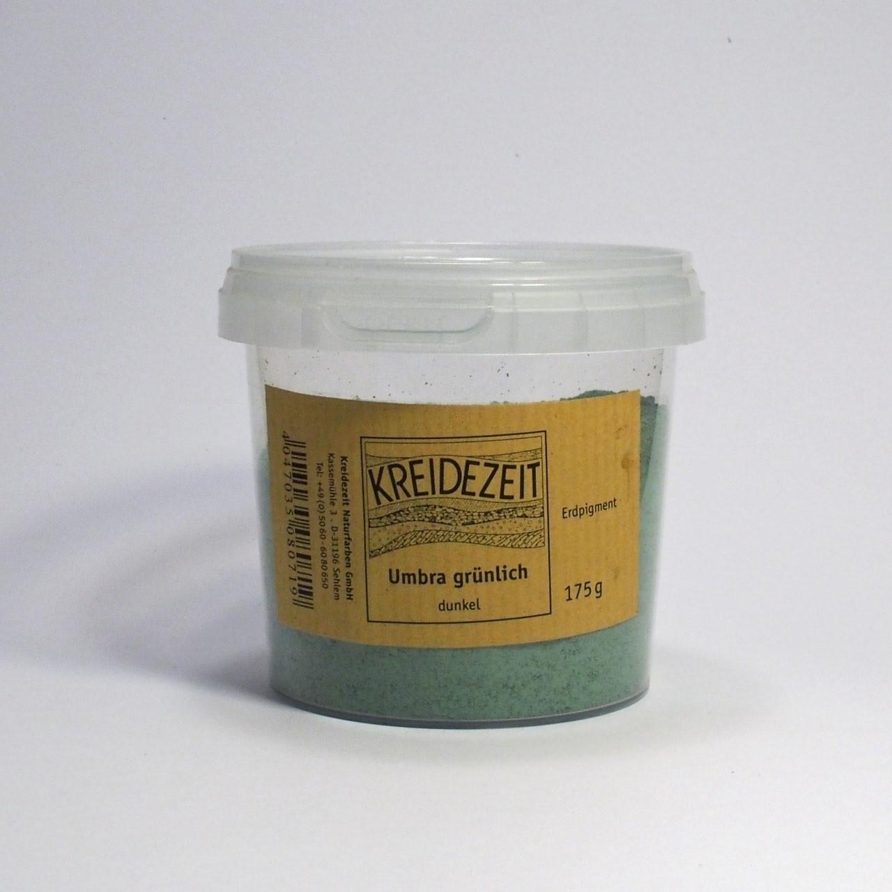 Kreidezeit Pigment Umbra grünlich, dunkel
