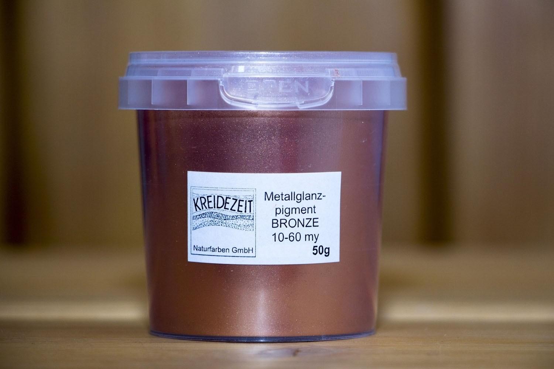 Kreidezeit Metallglanzpigment Bronze 10-60µm