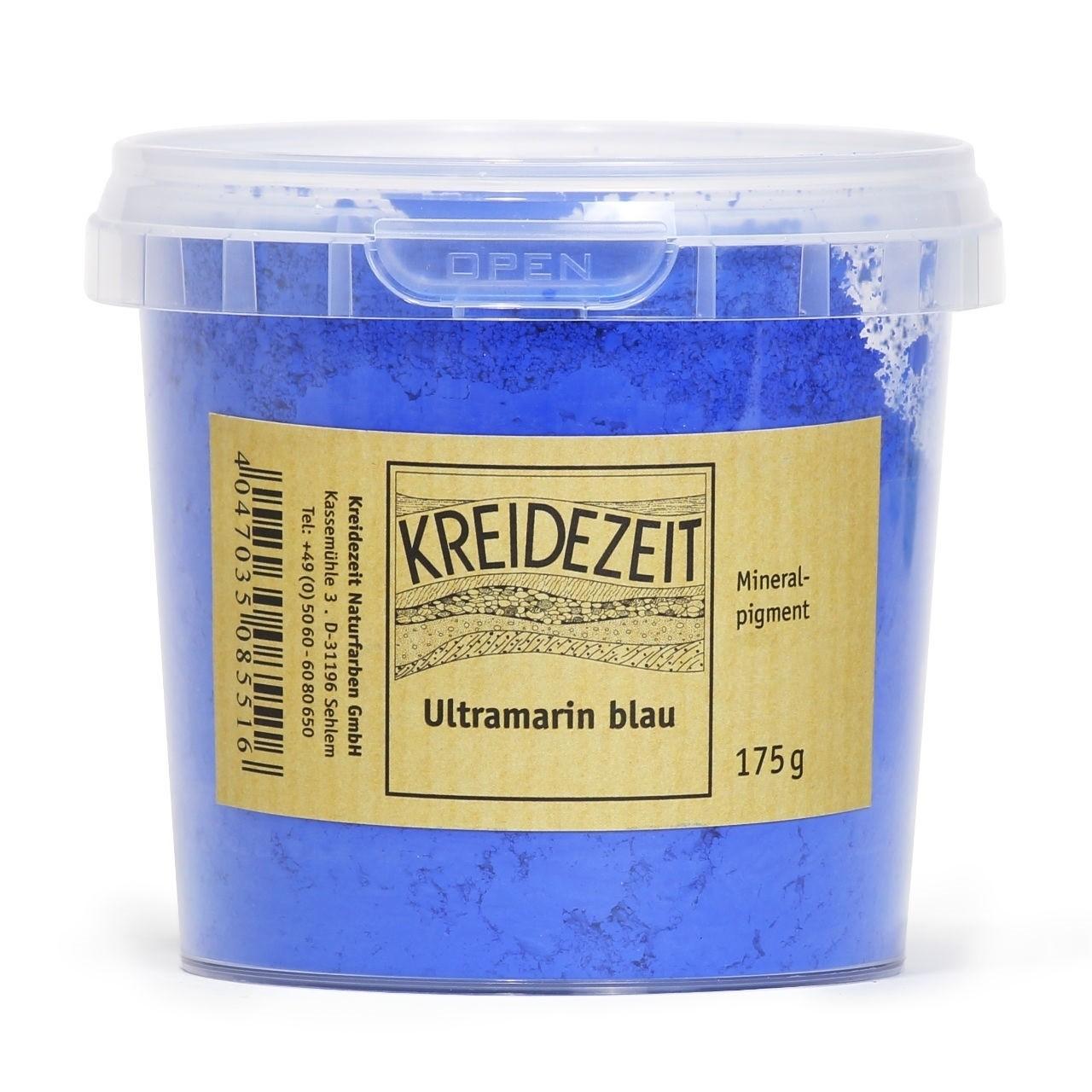 Kreidezeit Pigment Ultramarinblau