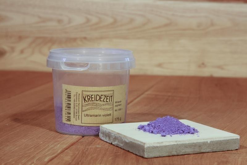 Kreidezeit Pigment Ultramarinviolett
