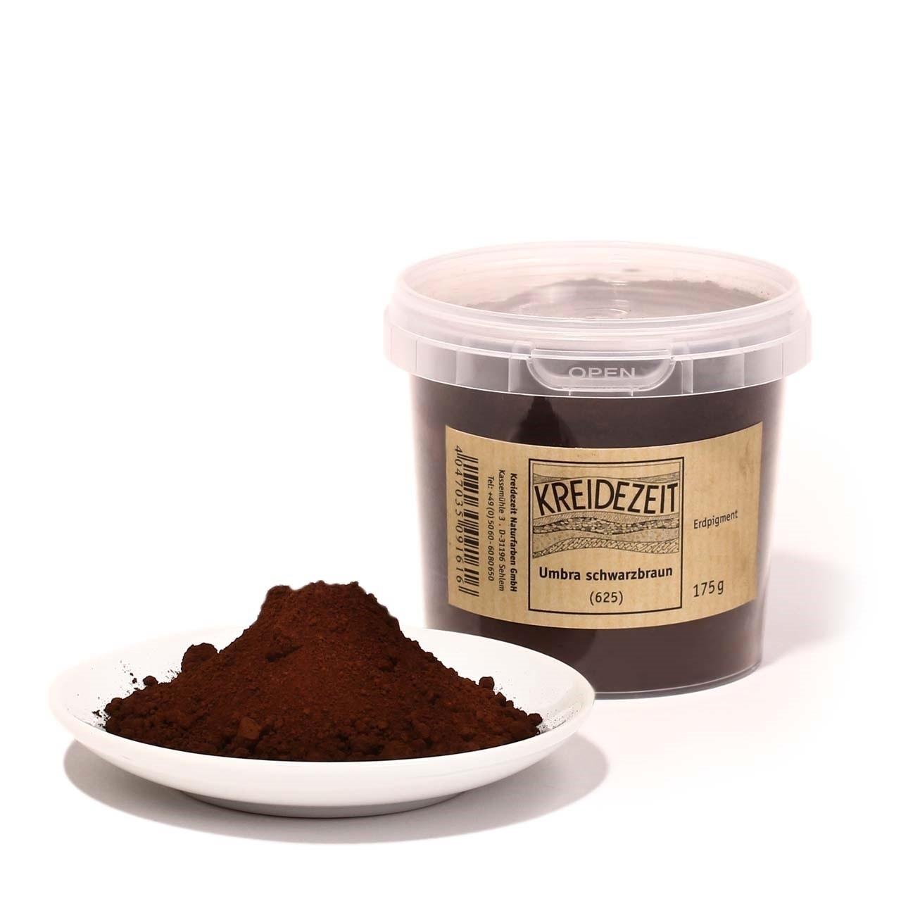 Kreidezeit Pigment Umbra schwarzbraun (625)
