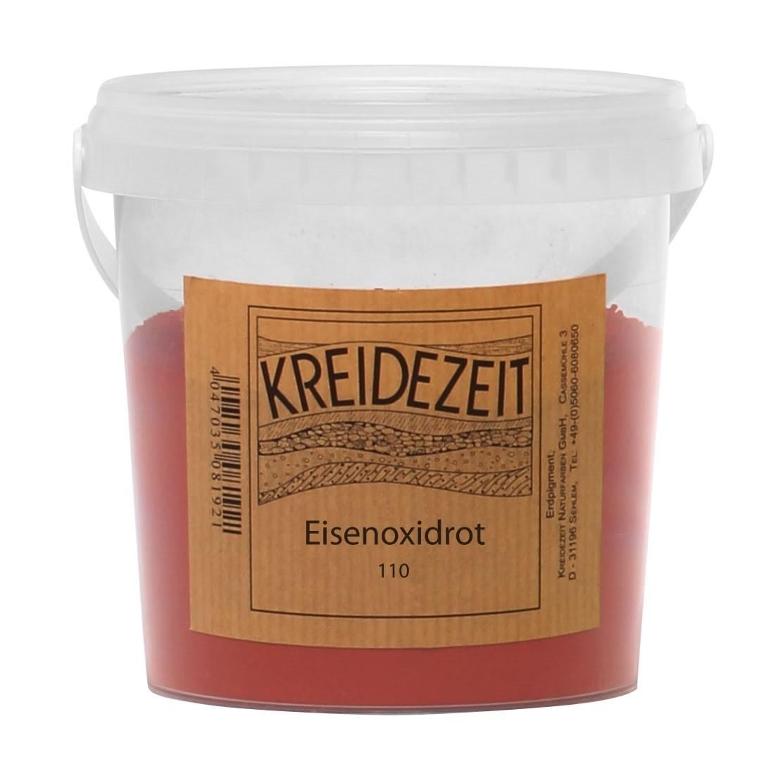 Kreidezeit Pigment Eisenoxidrot (110)