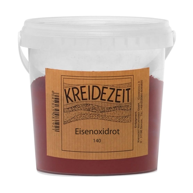 Kreidezeit Pigment Eisenoxidrot (140)