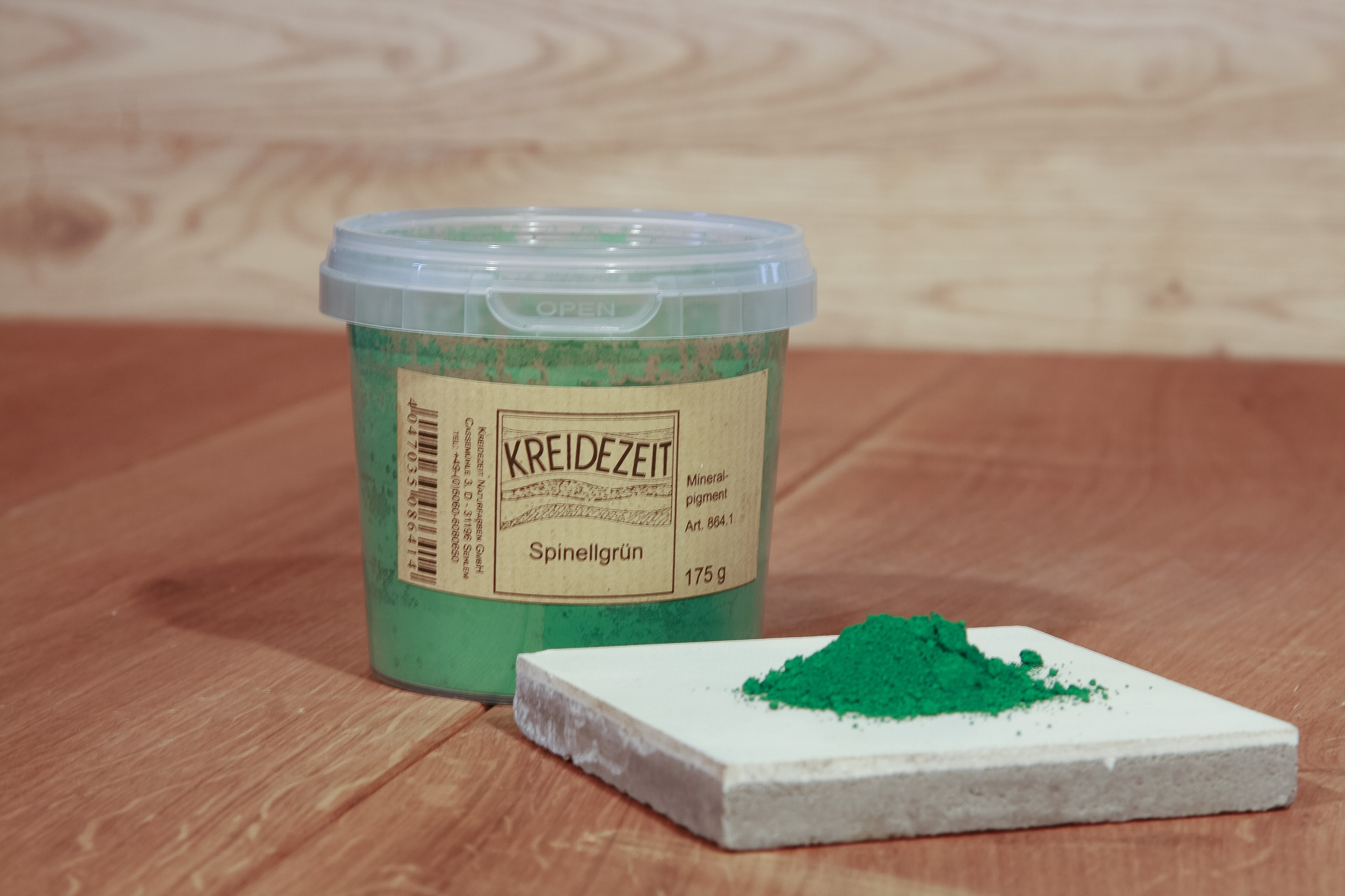 Kreidezeit Pigment Spinellgrün