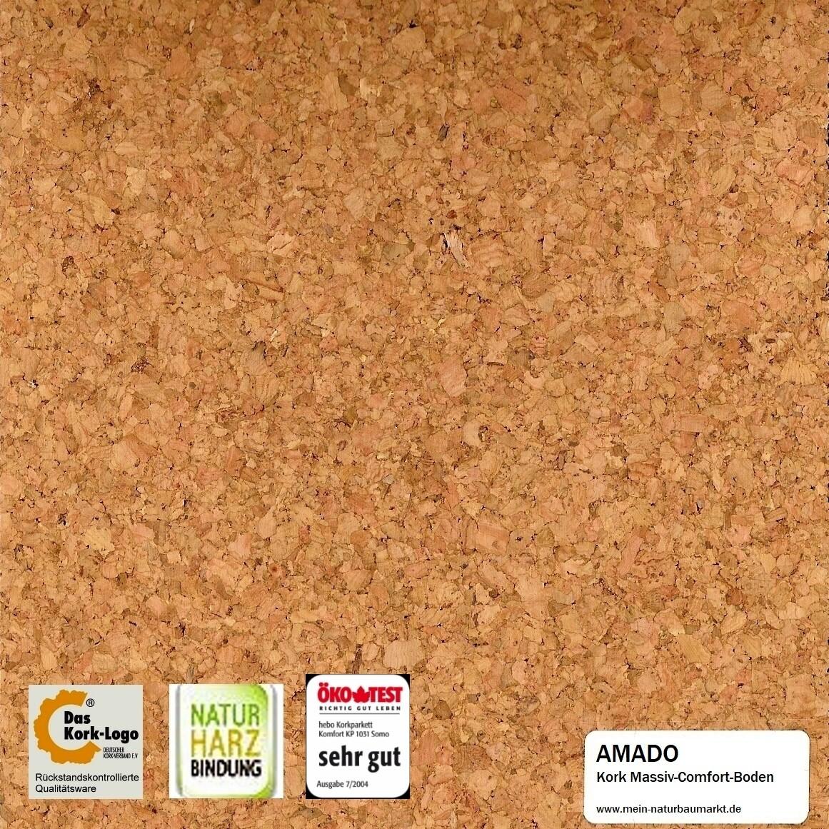 Massiv-Comfort-Boden Kork AMADO
