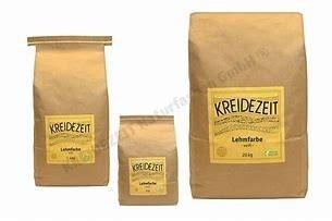 Kreidezeit Lehmfarbe  2 Kg/ 7,5 Kg/ 20 Kg