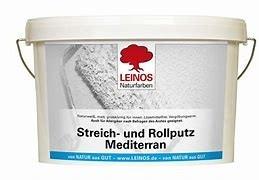 LEINOS Streich- und Rollputz Mediterran 680 2,5 l / 10 l