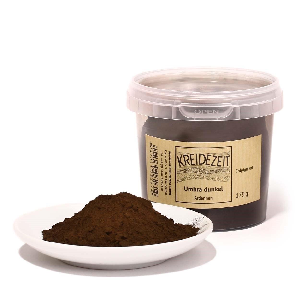 Keidezeit Pigment Umbra dunkel, Ardennen 75 g