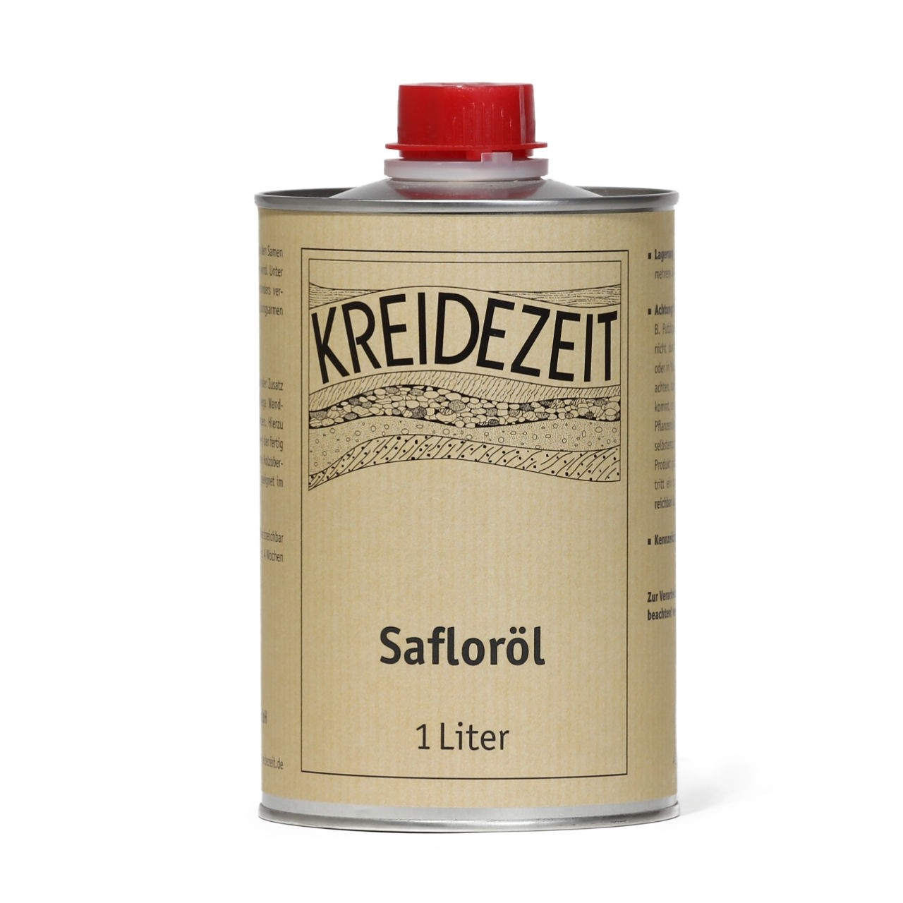 Kreidezeit Safloröl 1 Liter