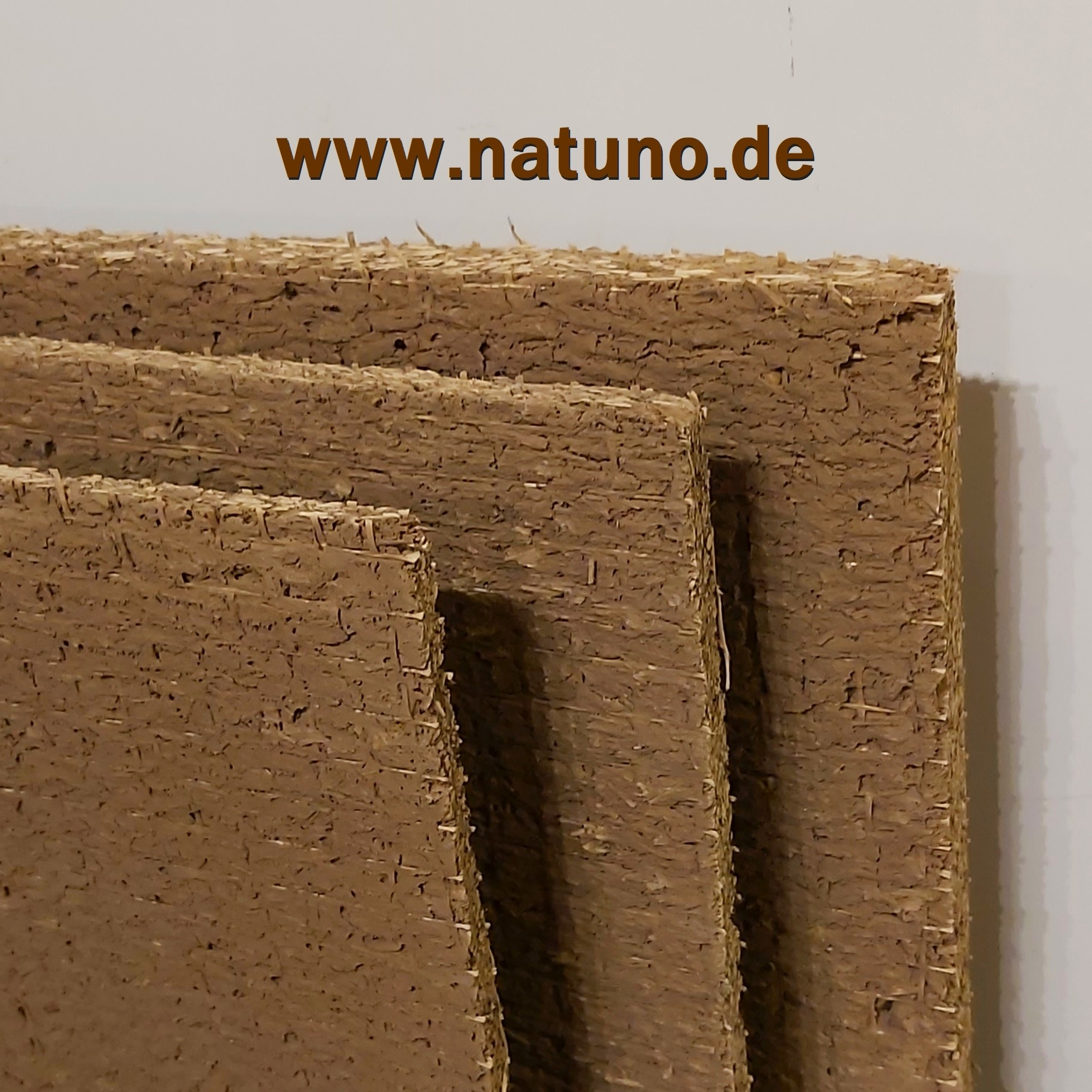 Lehmbauplatte 22 mm leicht mit Hanffasern
