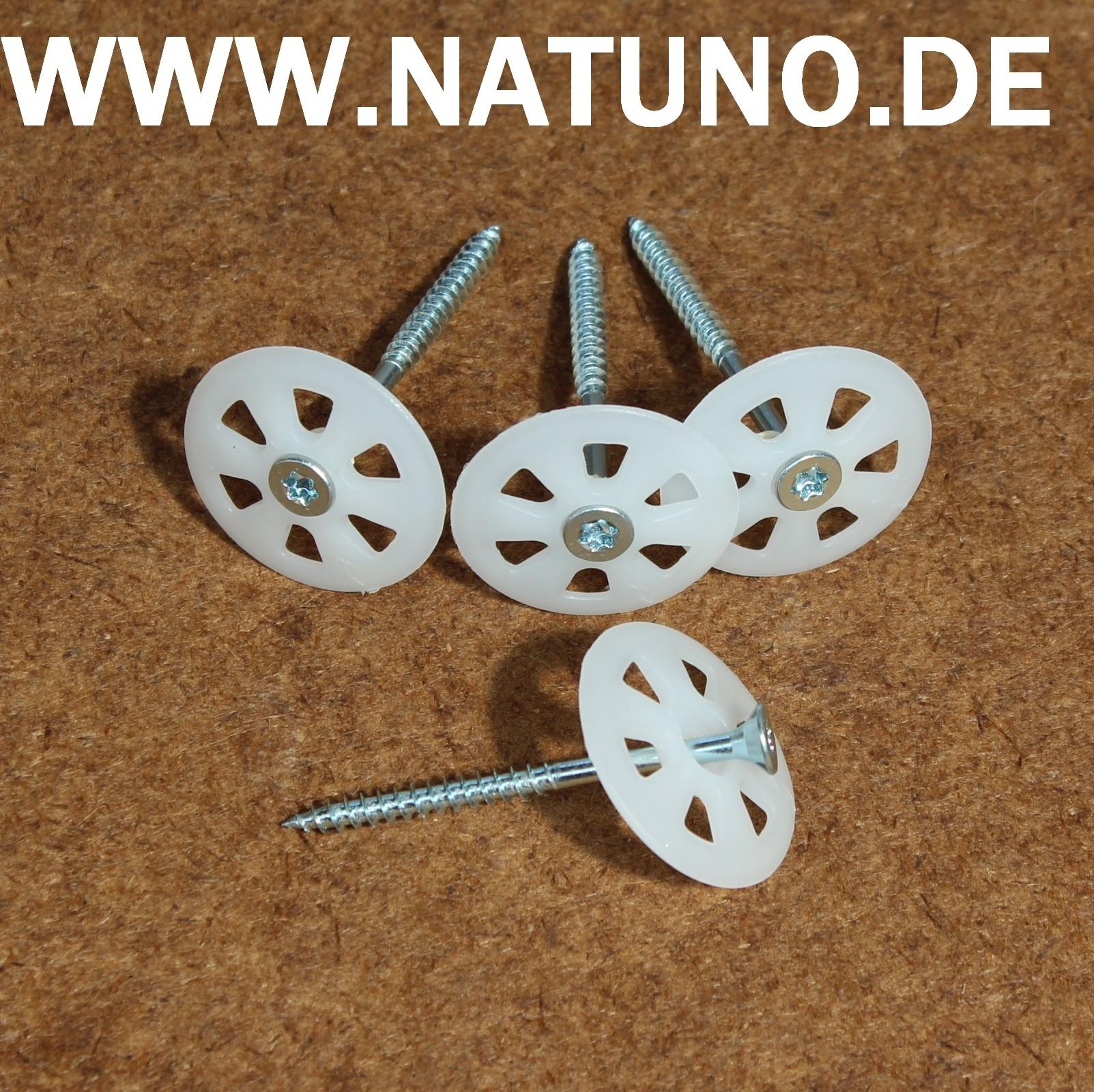 Dämmstoffdübel Dübelteller bis 30 mm Dämmdicke