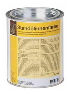 Beeck STANDÖLINNENFARBE GLÄNZEND 0,75 l