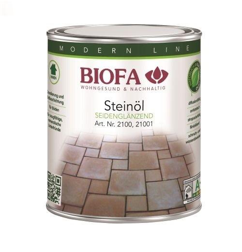 BIOFA Steinöl, farblos, seidenglänzend 1 l
