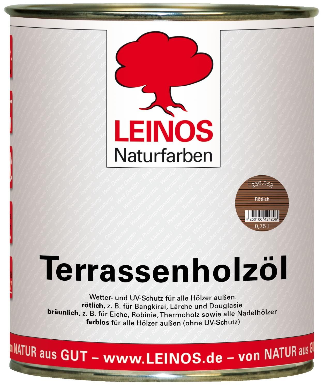 Leinos Terrassenholzöl Rötlich 236 - 0,75 L