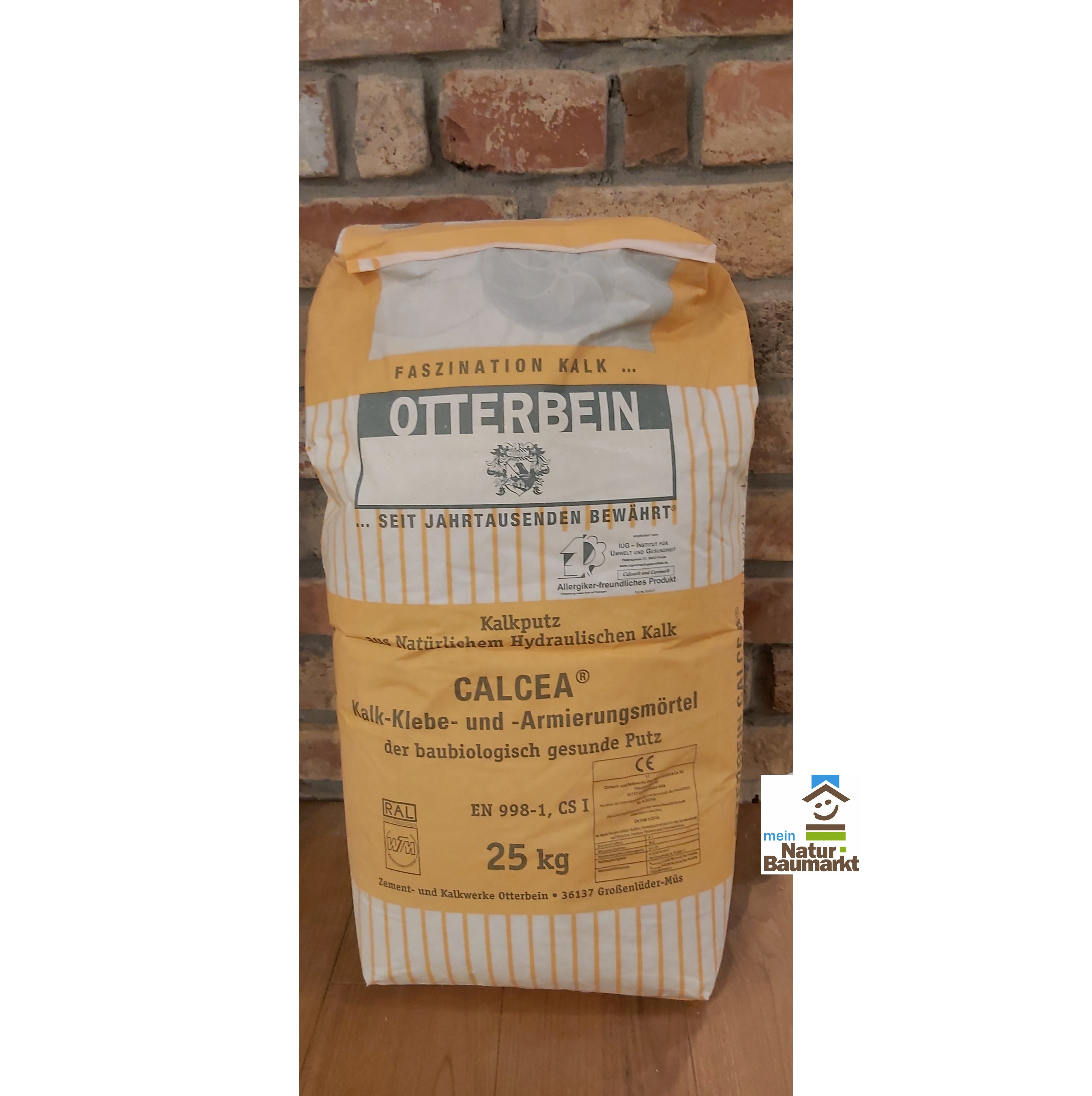 Otterbein CALCEA® Kalk-Klebe- und -Armierungsmörtel, 25 kg Sack