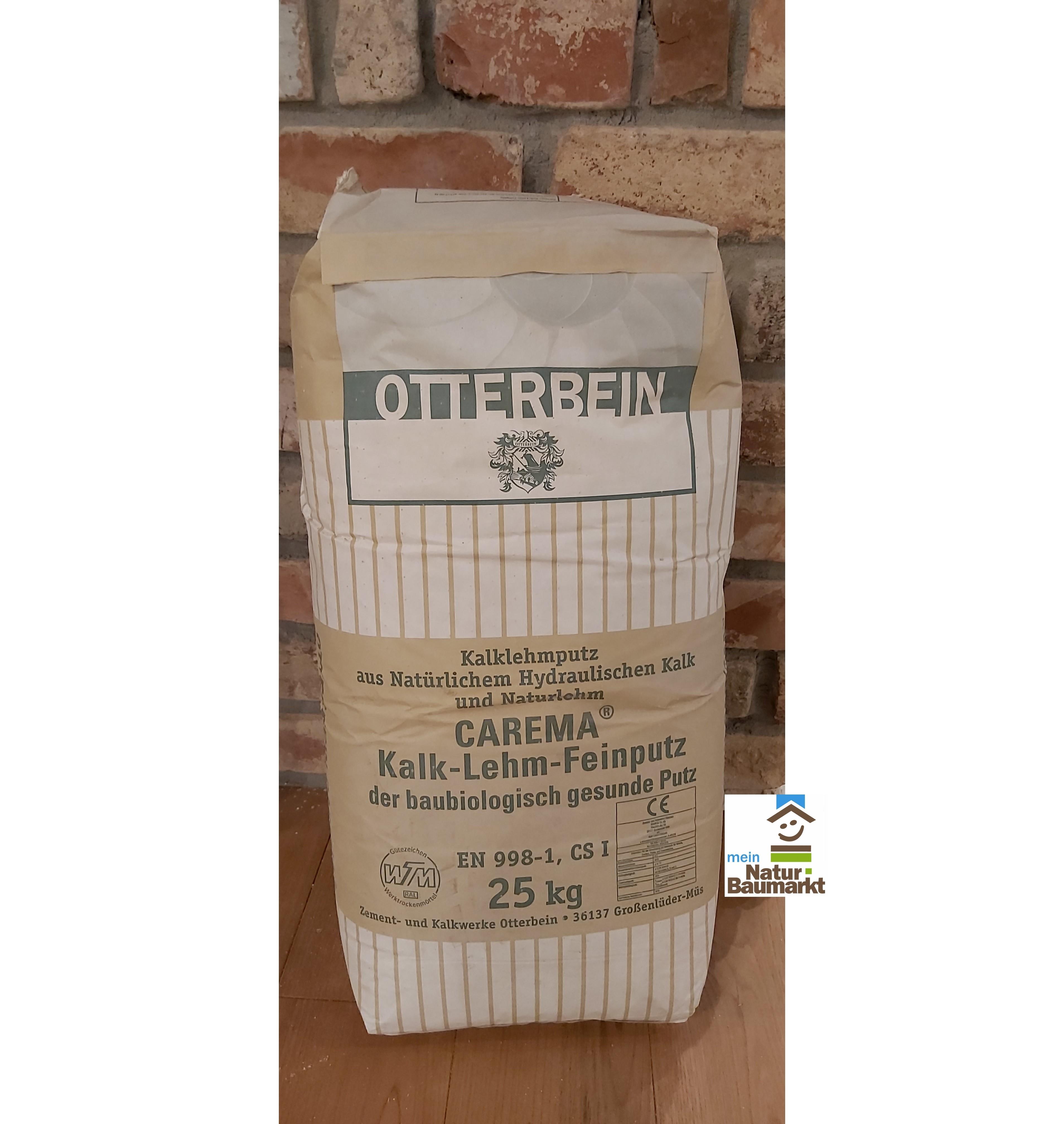 Otterbein CAREMA® Kalk - Lehm - Feinputz, 25 kg Sack