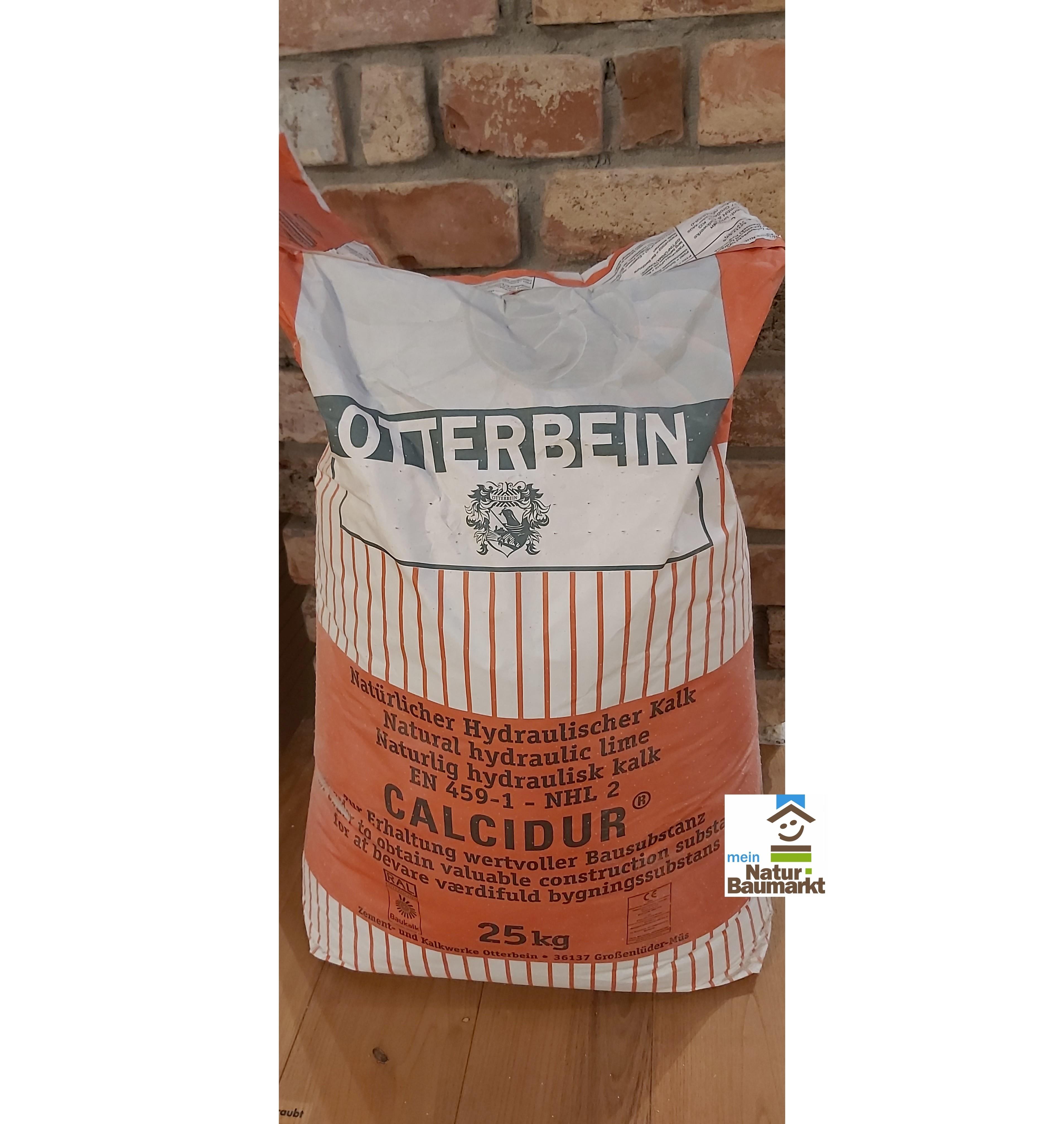 Otterbein Calcidur ® Natürlicher hydraulischer Kalk NHL 2, 25 kg Sack