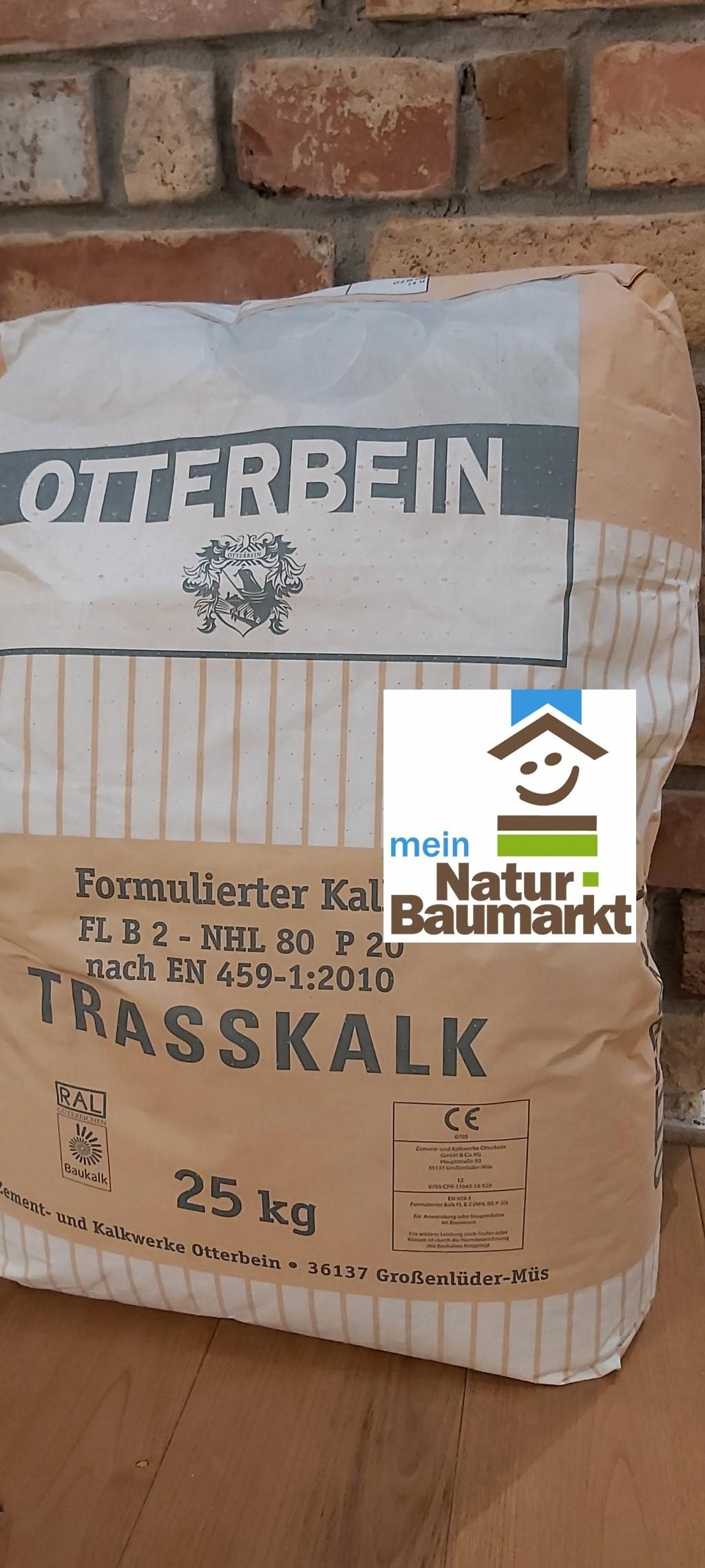 Otterbein Trasskalk – FL B 2 (NHL 80, P 20) 25 kg Sack