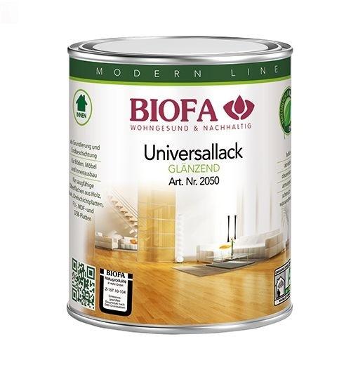BIOFA Universallack, transparent, glänzend 1 l