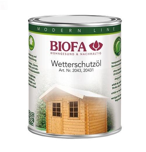 BIOFA Wetterschutzöl 2,5 l