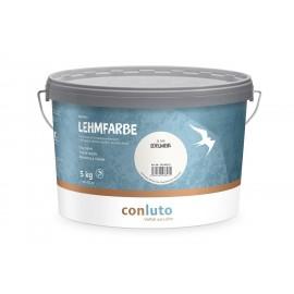 Conluto Lehmfarbe trocken EDELWEISS 10 kg
