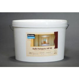 Hessler HP 90 - Naturkalk-Feinputz weiß  0,5 mm 20 kg-Eimer