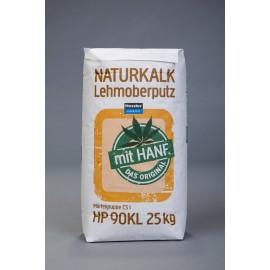 Hessler HP 90 - KL Naturkalk-Lehmoberputz mit Hanf   25 kg-Sack