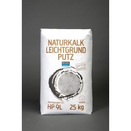 Hessler HP 9L - Naturkalk-Leichtgrundputz  25 kg-Sack